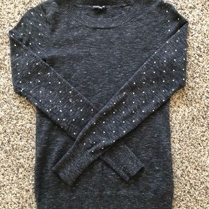 EXPRESS BLACK LONG SLEEVE WITH JEWELS